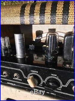 1950's Valco Supro Chicago 51 Tube Guitar Amp Vintage Vibe