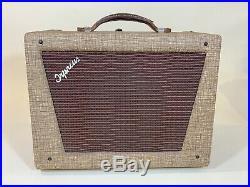 1950s 1960s Orpheus 707 Amplifier TUBE Vintage Magnatone 107 Supro Windsor