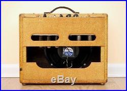 1955 Fender Deluxe Tweed Pre-CBS Narrow Panel Vintage Tube Amp 5E3 Circuit