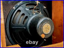 1955 Fender Deluxe Tweed Small Box Narrow Panel Vintage Tube Amp 5E3 Circuit