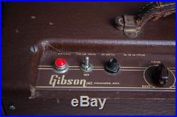 1955 Gibson GA-20 Vintage Guitar Tube Amp good working condition