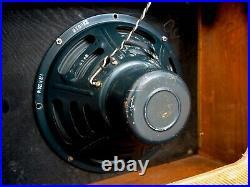 1956 Fender Deluxe Tweed Pre-CBS Narrow Panel Vintage Tube Amp with Jensen P12R