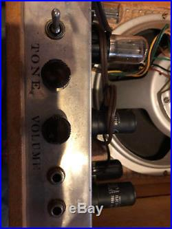 1956 Vintage Danelectro Tube Amp Amazingly Clean