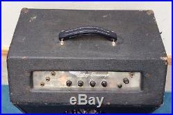 1957 Ampeg Bass Amp vintage model 820 /822/823 tube amplifier 1956-1958