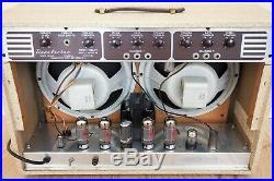 1957 Danelectro Twin Twelve Series D Model 98 Vintage 2x12 Tube Amp with Tremolo
