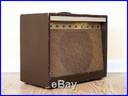 1957 Magnatone Custom 213 Troubadour Vintage Tube Amp with Vibrato 1x12 Pre-Estey