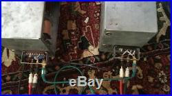 1957 Rare Eag Pair Vintage Tube Pro Amp Amplifiers Siemens Telefunken El-84