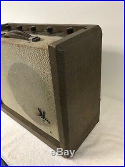 1957 Silvertone 1392 Tube Amplifier, Harp Amp, Guitar Amp, Vintage
