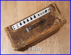 1958 Fender Super Tweed 5F4 Vintage Tube Amp 2x10 Pre-CBS, Jensen P10R