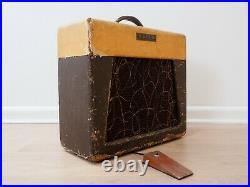 1958 Guild Masteramp 66-J Vintage 1x12 Tube Amplifier Tweed Jensen P12Q 6V6