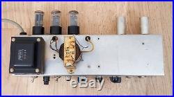 1959 Fender Deluxe Tweed Vintage Tube Amplifier 5E3 Circuit, Jensen P12R
