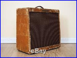 1959 Fender Tremolux Tweed Vintage Pre-CBS Tube Amplifier 1x12 6V6 Jensen C12Q