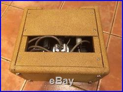 1960 Fender Champ Tweed Vintage Tube Amplifier (see description)