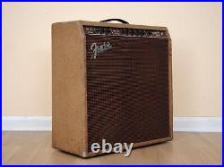 1960 Fender Concert Pre-CBS Brownface Vintage Tube Amp 5G12 with Jensen P10Q