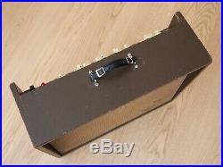 1960 Magnatone 280 Vintage 2x12 Tube Amplifier with Stereo Vibrato Magna Pre-Estey