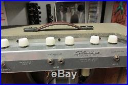 1960 Silvertone 1432 Vintage Tube Amplifier Killer Harp Amp