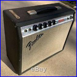 1960s 1970s USA Vintage fender bronco Tube amp Vibro Champ
