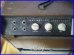 1960s TONEMASTER troubadour Vintage 1x12 Tube Amp Vibrato, Estey Electronics Inc