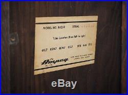 1962 Ampeg Reverberocket R-12R Vintage Tube Amp Navy Random Flair withCover, ftsw