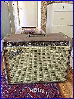 1962 Fender Brownface Vintage Pre-CBS Tube Guitar Amp Super-AMP Super AMP
