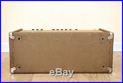 1962 Fender Vibrasonic Vintage Pre-CBS Tube Amp Brownface 1x15 JBL D130, Showman