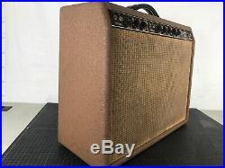 1962 Fender Vibrolux Vintage Tube Amp Brownface Eminence Alinco