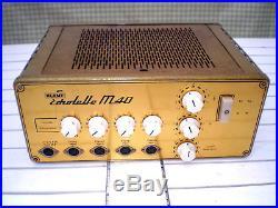1962 KLemt Echolette M40 best Vintage Tube Amp f Guitar Bass w. Marshall Sound