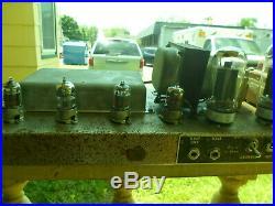 1963 1964 Fender Bassman Vintage Blackface Tube Guitar Amplifier Amp