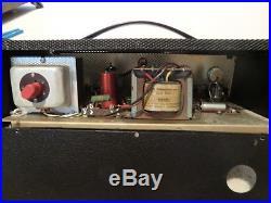 1963 Vintage Dallas selmer fenton weill porta 15 tube amp head ac15