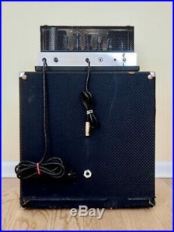 1964 Ampeg B-15N Portaflex Fliptop Vintage Tube Amp Blue Diamond 1x15 CTS