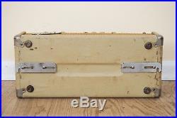 1964 Fender Bassman 6G6-B Blonde Brownface Vintage Pre-CBS Piggyback Tube Amp