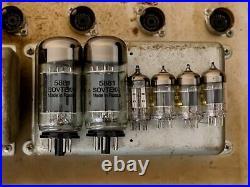 1964 Fender Bassman Black Panel Piggyback Vintage Tube Amp Pre-CBS AA864 Circuit