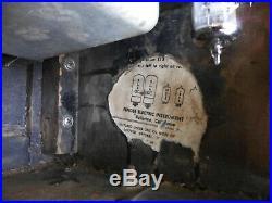 1964 Fender Bassman Vintage Blackface Tube Guitar Amplifier Amp