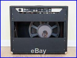 1964 Fender Pro Vintage Blackface Pre-CBS Tube Amp 1x15 with JBL D130F