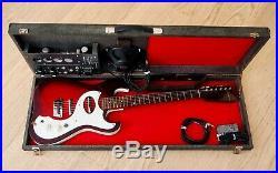 1964 Silvertone 1457 Vintage Amp-in-Case Guitar & Tube Amp Set, Danelectro USA
