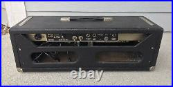 1965 Fender Bandmaster Blackface AB763 Vintage Tube Guitar Amplifier Amp Head