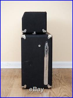 1965 Fender Bassman Blackface Piggyback Vintage Tube Amp AA165 FEIC, Jensen C12N