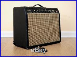 1965 Fender Princeton Reverb Vintage Blackface Tube Amp 1x10, Oxford 10J4 & Ftsw