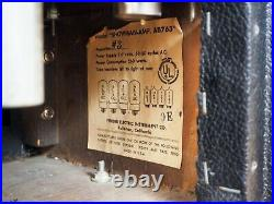 1965 Fender Showman Blackface Piggyback Vintage Tube Amp 1x15 with JBL D130F