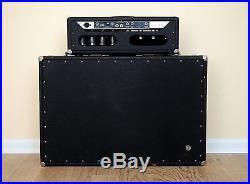 1965 Fender Showman Vintage Blackface Piggyback Tube Amp, Tone Ring Cab JBL D140