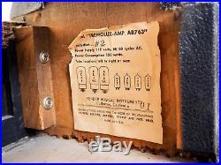 1965 Fender Tremolux Blackface Vintage Piggyback Tube Amp 2x10 AB763, FEIC