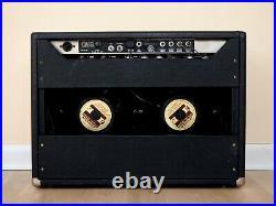1965 Fender Vibrolux Reverb Blackface Vintage 2x10 Tube Amp AA864 with Jensen C10N