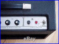 1965 Harmony H420 Vintage Valco, USA-Made Tube Amp Supro Thunderbolt Variant