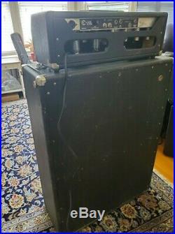 1966 Fender Bandmaster head vintage tube amp