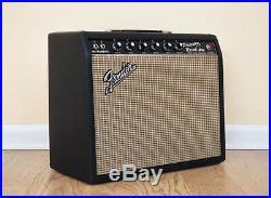 1966 Fender Princeton Reverb Vintage Blackface Tube Amp 100% Original with Cover