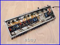 1966 Fender Pro Reverb Blackface Vintage Tube Amplifier 2x12, Serviced with Ftsw