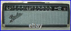 1966 Vintage Fender Blackface Tremolux Tube Guitar Amp