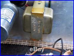1966 Vintage Fender Princeton Blackface Tube Guitar Amp