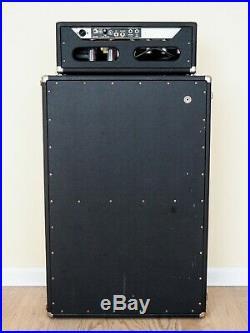 1967 Fender Bassman Blackface Piggyback Vintage Tube Amp 2x12 with AB165 Circuit