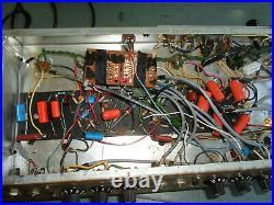 1967 Fender Bassman Vintage Blackface Tube Amplifier AB165 Rare Dan Torres Mod